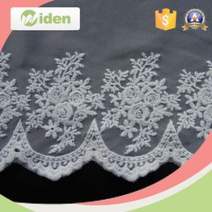 Saree Border Embroidery Swiss Lace Trimming Lace for Bridal Dress pictures & photos