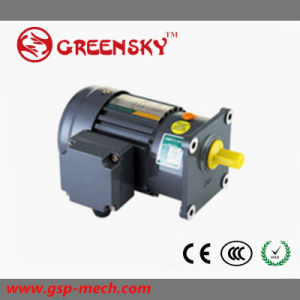 GS Hot Selling 500W Small Brake Gear Motor pictures & photos
