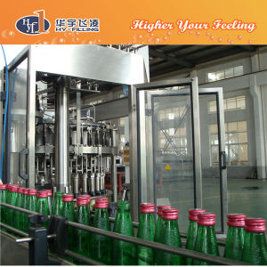 Glass Carbonated CO2 Drinks Bottling Machine pictures & photos