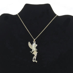 Silver Fairy Tales Charms Necklace Wholesale (FN16040811)
