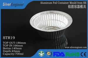 Real Automatic Aluminum Foil Container Production Line pictures & photos