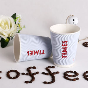 Matt Surface Biodegrade-PLA Hot Coffee Paper Cup pictures & photos