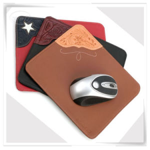 Handmade Custom PU Leather Monogrammed Comprar Mouse Pads