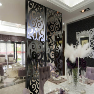 Decorative Pattern Laser Cutting Stainless Steel Screen for Wall Background Panel pictures & photos