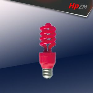 CFL Bulb Red Tube Energy Saving Lamp pictures & photos