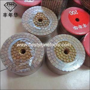 "Wd-9 Diamond Hybrid Metal Polishing Pad (3-6"") pictures & photos"