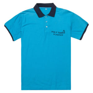 Good Quality Factory Price Apparel Contrast Color Polo Shirt (PS053W) pictures & photos