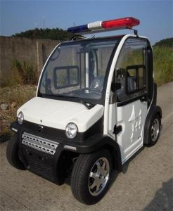Electric Car with CE/DOT Certificate for Police