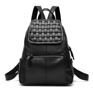Wholesale New Deisgner PU Lether School Backpack Fashion Travel Bag (XB0928) pictures & photos