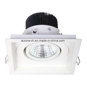 15W COB High Power Aluminum Ceiling Lighting LED Downlight (S-D0008)