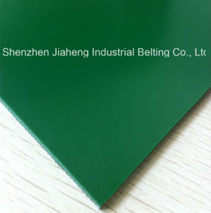 PVC Conveyor Belt Smooth Top Fabric Bottom Strong Tension Elongation