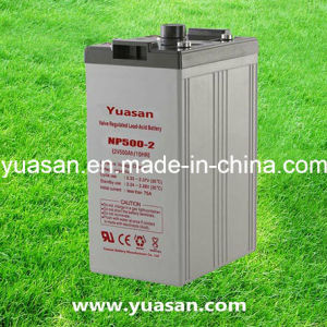 2V 500ah High Performance SLA Rechargeable Deep Cycle AGM UPS Battery -Np500-2