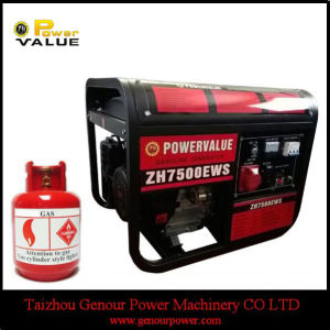 with Tire Kit 6kw 6kVA LPG Gas Generator for Sale pictures & photos