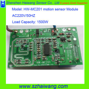 New AC220V 1500W Microwave Motion Sensor Module Detector Detection Hw-Mc201 pictures & photos