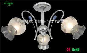 Morocco Glass Chrome Glass Chandelier Ceiling Lighting pictures & photos