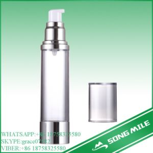 50ml Hot Sale Transparent Airless Bottle for Lotion pictures & photos