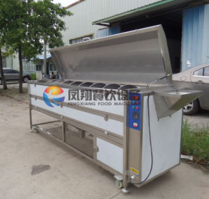 Large Type Screw Yam/Potato/Carrot/ Vegetable Washing & Peeling Machine pictures & photos