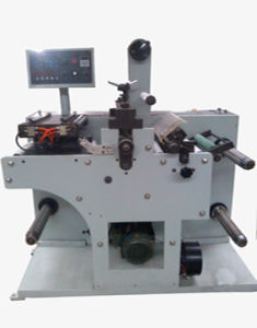 Slitting Machine with Die Cutting Station Supermarket Label pictures & photos