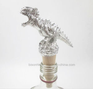 Newly Wine Bottle Stopper, Dinosaur Cork Stopper pictures & photos