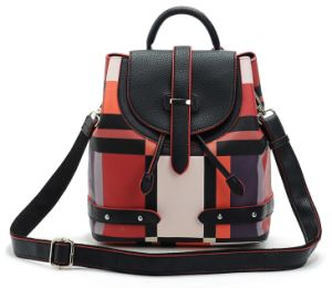 2015 Fashionable PU Backpack Made of Eco-Friendly Material pictures & photos