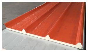 40mm Polyurethane Color Steel Sandwich Panel Used for Roof pictures & photos