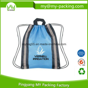 Recycled Promotional Shop PP Rope Drawstring Bag pictures & photos
