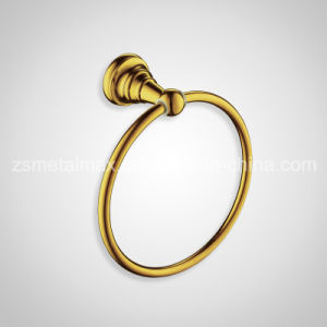 Stainless Steel Bathroom Wall Mounted Towel Ring (SJH001) pictures & photos