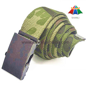 Screen Printing Military Webbing Belt, Camouflage Webbing Belt for Army pictures & photos