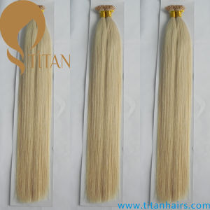 Light Blond Brazilian Virgin Remy I Tip Hair Extension