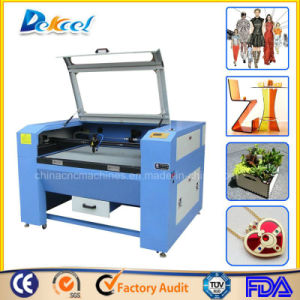 Reci 80W Double/Two Head Laser Cutting Machine with Honey Comb Work Table pictures & photos