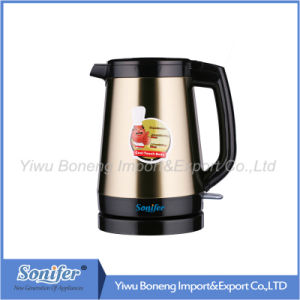 2.0 L Stainless Steel Electric Water Kettle Keep Warm Water Kettle Sf-2390 (Yellow) pictures & photos