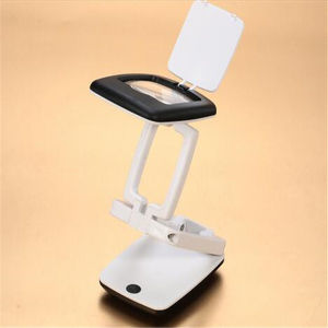 3X Portable Handheld Folding Jewels Magnifier Lamp with LED Light (EGS-7024) pictures & photos