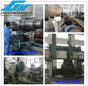 Mechine Process Steel Structure Process and Non Standard Steel Structure Process pictures & photos
