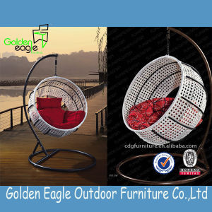 Modern Design Rattan Swing Chair (W0006) pictures & photos