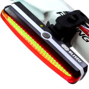 USB Rechargeable 26LED COB Bicycle Tail Bike Rear Light pictures & photos