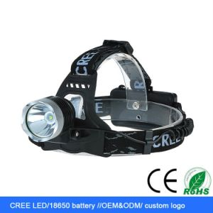 1800lm CREE Xm-L T6 LED Rechargeable LED Headlight pictures & photos
