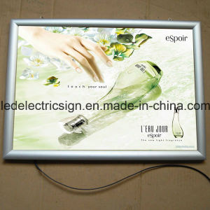 Ultra Thin Snap Frame LED Decorative Poster Light Box pictures & photos