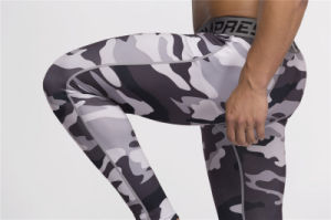 Compression Trousers Gym Sexy Men Bodybuilding Fitness Tight Pants (AK2015012) pictures & photos