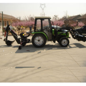 Huaxia Farm/Garden Tractor with Front End Loader/Backhoe pictures & photos