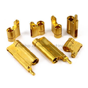 CNC Lathing Precision Copper Part pictures & photos