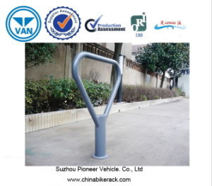 Bicycle Storage Racks Outside The Supermarket pictures & photos