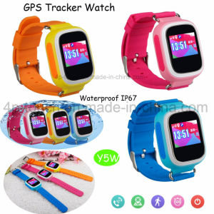 Waterproof Kids GPS Tracker Watch with Anti-Lost Function and Sos Button Y5w pictures & photos