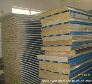 Insulated Fireproof Rock Wool Cold Room Insulation Panels Clean Room Panels pictures & photos