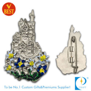 Zinc Alloy Pin Badge with 3D Design and Baking Finish From China pictures & photos