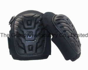 Big PVC Cap Knee Pad with Gel for Sports Safety (QH3006)