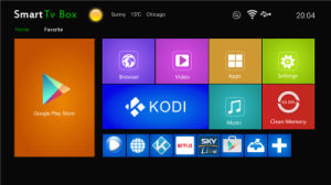 Kodi Amlogic S905X Quad Core Android 6.0 TV Box X96 pictures & photos