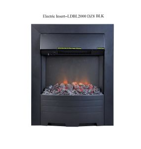 Indoor Dz8 Blk Electric Insert Fireplace