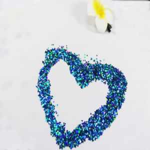 Cards Made of Glitter Powder Are Given to Close People pictures & photos