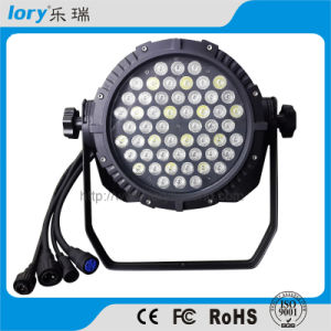 54PCS*3W RGBW LED PAR Light for Stage Lighting Waterproof