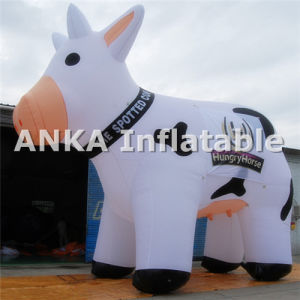 Custom Shape Lovely Inflatable Milka Cow Character pictures & photos